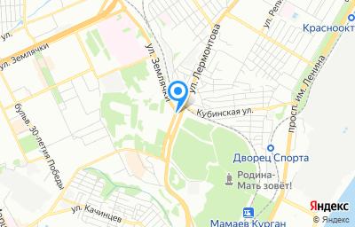 Местоположение на карте пункта техосмотра по адресу г Волгоград, ул им. Землячки, д 67