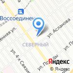 ЮниТекс на карте Волгограда