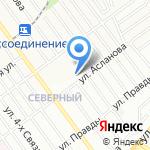 Средняя общеобразовательная школа №91 на карте Волгограда