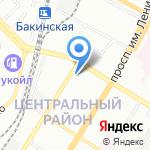 Галеон на карте Волгограда
