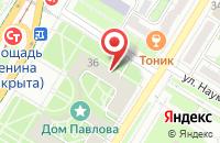 Схема проезда до компании Одеон в Волгограде