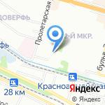 На Гражданской на карте Волгограда