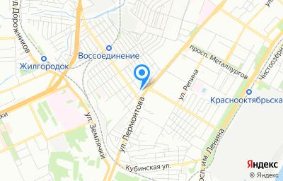 Местоположение на карте пункта техосмотра по адресу г Волгоград, ул им. Алехина, д 38