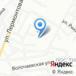 Река на карте Волгограда