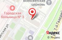 Схема проезда до компании Лукойл-Интер-Кард в Волгограде