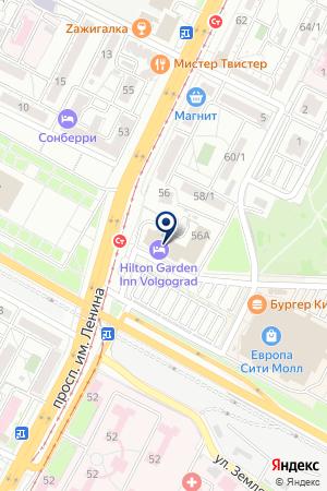 СЕРВИСНЫЙ ЦЕНТР МИР-ВИДЕО-1 на карте Волгограда