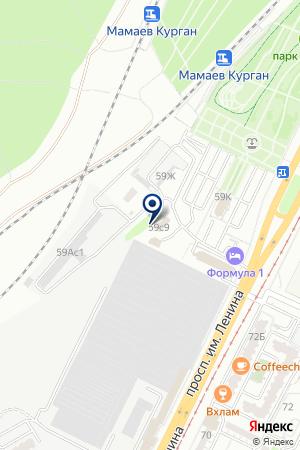 Вэлью на карте Волгограда