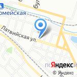 Литера на карте Волгограда