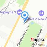 НИИ энергетических сооружений на карте Волгограда