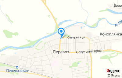 Местоположение на карте пункта техосмотра по адресу Нижегородская обл, г Перевоз, ул Школьная, стр 2
