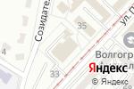 Схема проезда до компании Эль в Волгограде