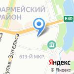 Зонд на карте Волгограда