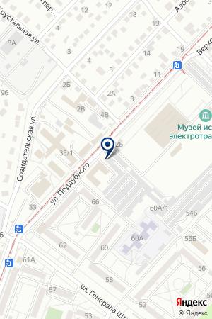 Автолидер-М на карте Волгограда