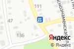 Схема проезда до компании Южный в Краснослободске
