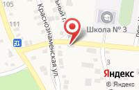 Схема проезда до компании Почтовое отделение №162 в Краснослободске