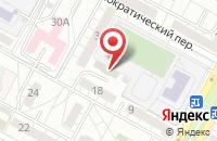 Схема проезда до компании Ковчег Медиа в Волгограде