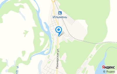 Местоположение на карте пункта техосмотра по адресу Волгоградская обл, рп Рудня, ул Строителей, д 1