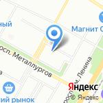 Детский сад №379 на карте Волгограда