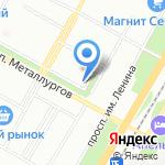 АЛИСА на карте Волгограда