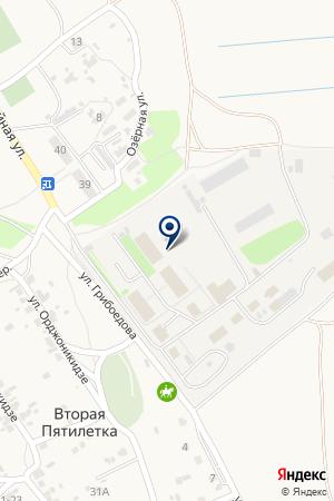 Краснослободский поисково-спасательный отряд МЧС России на карте Второй Пятилетки