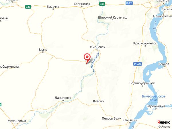 поселок городского типа Рудня на карте