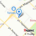 Планета Детства на карте Волгограда