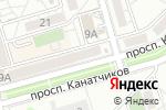 Схема проезда до компании Южный двор в Волгограде