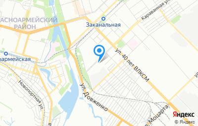 Местоположение на карте пункта техосмотра по адресу г Волгоград, пр-кт им Столетова, д 45