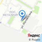 Волгоградский региональный ботанический сад на карте Волгограда