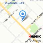 Станция юных натуралистов Красноармейского района на карте Волгограда