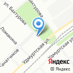 Лотос на карте Волгограда