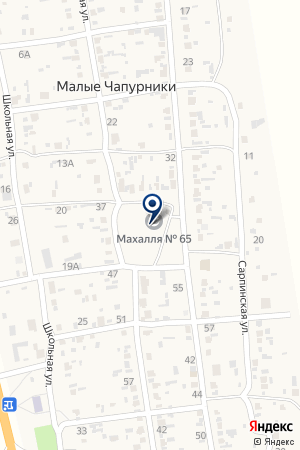 Мечеть на карте Волгограда