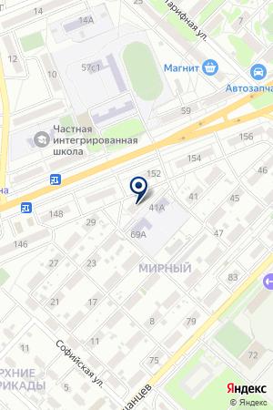 ШКОЛА-САД №9 ДЛЯ СЛАБОСЛЫШАЩИХ ДЕТЕЙ на карте Волгограда