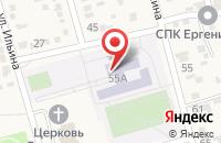 Схема проезда до компании Большечапурниковская средняя общеобразовательная школа в Больших Чапурниках