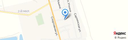 Банкомат Поволжский банк Сбербанка России на карте Больших Чапурников