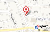 Схема проезда до компании ПроГресс в Краснослободске