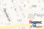 Схема проезда до компании Витязь в Краснослободске