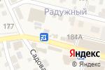 Схема проезда до компании Дачный мир в Краснослободске