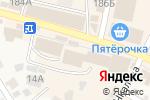 Схема проезда до компании Магазин крепежных изделий и электроинструмента в Краснослободске