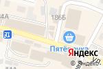 Схема проезда до компании Электросеть в Краснослободске