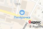 Схема проезда до компании Иловлинские цыплята в Краснослободске