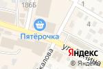 Схема проезда до компании Компания по продаже окон в Краснослободске
