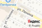 Схема проезда до компании Магазин картин, люст и ковров в Краснослободске