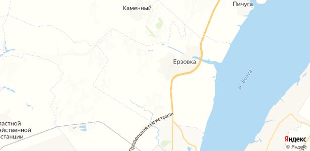 Ерзовка на карте