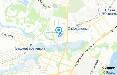 Местоположение на карте пункта техосмотра по адресу г Волгоград, ул им. академика Зелинского, влд 12