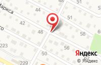 Схема проезда до компании Забор Строй в Краснослободске