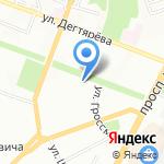 Знание на карте Волгограда