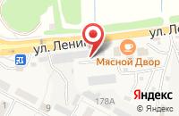 Схема проезда до компании СтальКомплект в Краснослободске