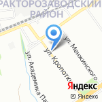 Миллер на карте Волгограда