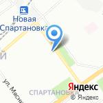 Креатор на карте Волгограда